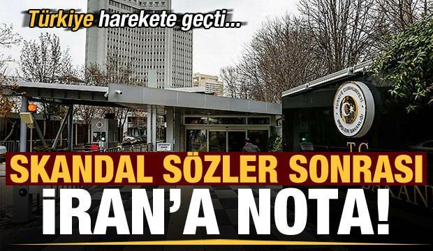 Son dakika haberi: Türkiye'den İran'a nota!
