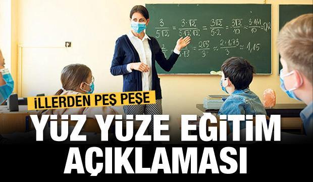 Son dakika: İstanbul Valiliği'nden 'yüz yüze eğitim' açıklaması