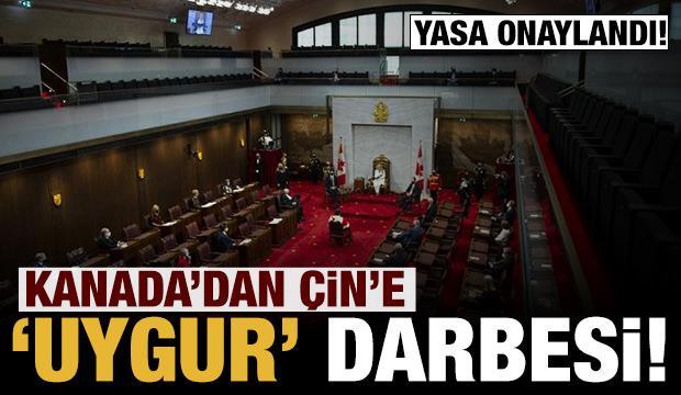 Son dakika: Kanada'dan Çin'e Uygur Türkleri darbesi! Yasa onaylandı!