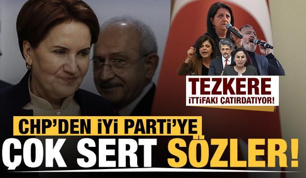 Tezkere, ittifakı çatırdatıyor! CHP'li Ali Şeker'den İYİ Parti'ye çok sert sözler