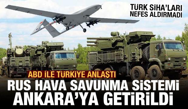 Türkiye ile ABD anlaştı! Türk SİHA'larının vurduğu Rus silahı Ankara'ya getirildi