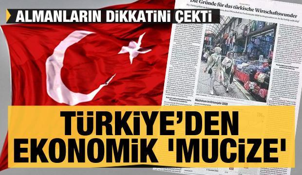 Türkiye'den ekonomik 'mucize'! Almanların dikkatini çekti