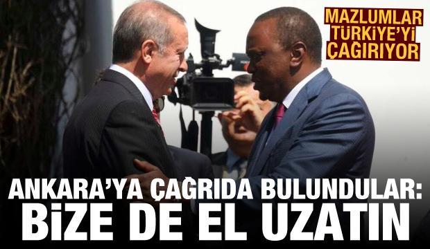 Kenyalı gazeteciden Türkiye'ye çağrı: Bize de el uzatın