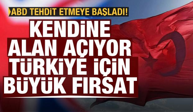Yüzünü Körfez'e döndü, Türkiye'ye fırsat doğdu! ABD tehdit etmeye başladı