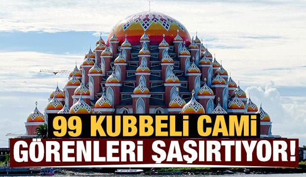 99 Kubbeli Cami görenleri şaşırtıyor!