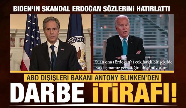 ABD Dışişleri Bakanı Antony Blinken'den darbe itirafı!