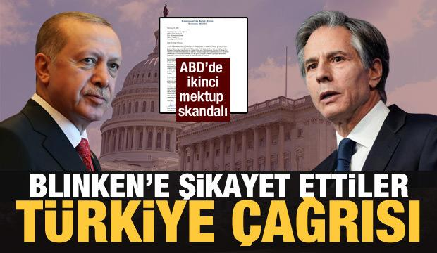 ABD'li meclis üyelerinden Türkiye'yi hedef alan yeni mektup