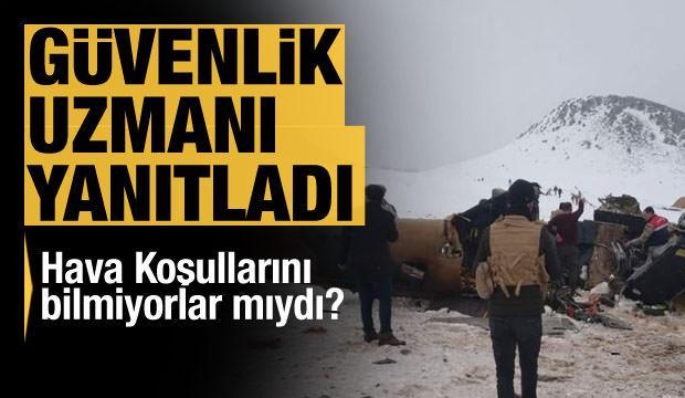 Abdullah Ağar: Uçmaya ve uçmamaya karar vermek pilotun elindedir