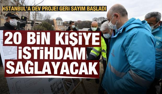 Bakan Karaismailoğlu: Dev proje 20 bin kişiye istihdam sağlayacak