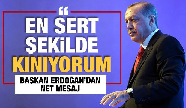 Başkan Recep Tayyip Erdoğan'dan kadına şiddet açıklaması!
