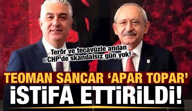 CHP'de skandalsız gün yok! Dibe doğru: Apar topar istifa ettirildi...