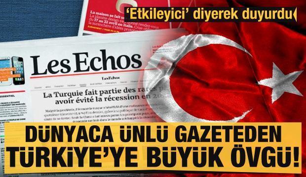 Dünyada ünlü gazeteden büyük övgü: Türkiye nadir ülkelerden biri