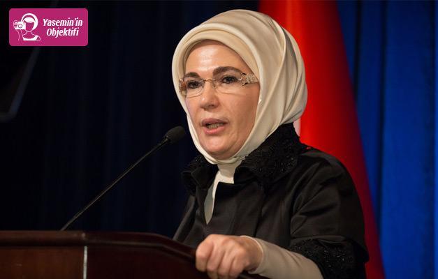 Emine Erdoğan'dan Güçlü Türkiye'nin Güçlü Kadınları Zirvesi'nde önemli mesajlar...