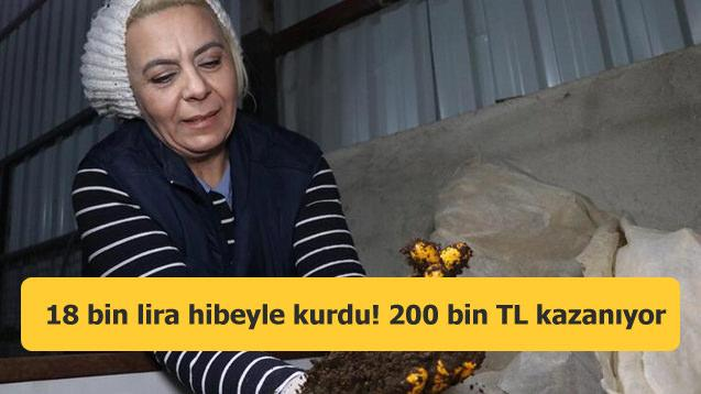Eski hükümlü 18 bin lira hibeyle kurdu! Şimdi yıllık 200 bin TL kazanıyor