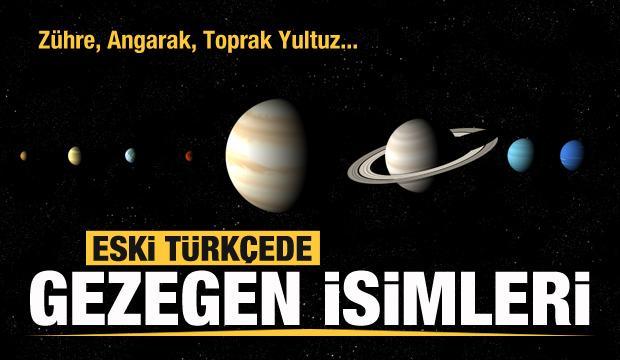 Eski Türkçede gezegen isimleri