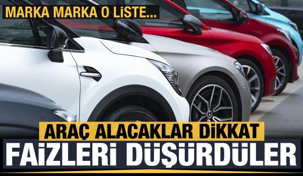 Fiat, Toyota, Hyundai, Citroen, Peugeot, Honda, Kia, Jeep ve Suzuki... İşte 2021 kampanyası