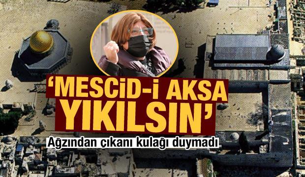 İsraillier 'Mescid-i Aksa yıkılsın' istiyor!