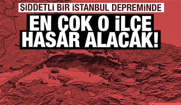 İstanbul depreminden hangi ilçe ne kadar etkilenecek? İşte ilçe ilçe yapı sayıları...