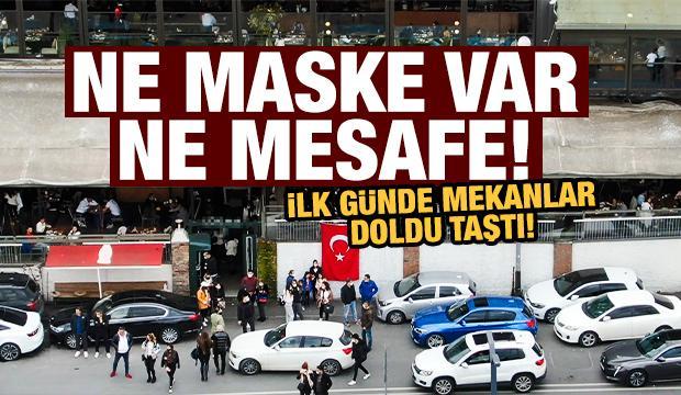 İstanbul'da korkutan görüntüler! Boğaz kenarına akın ettiler, trafik kilitlendi...