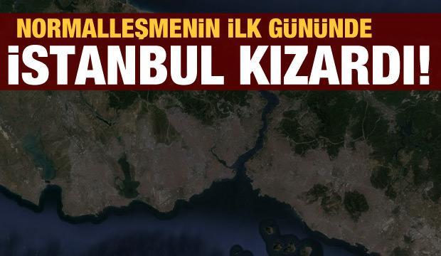 İstanbul'da yeni normalleşmenin ilk günü trafik felç!