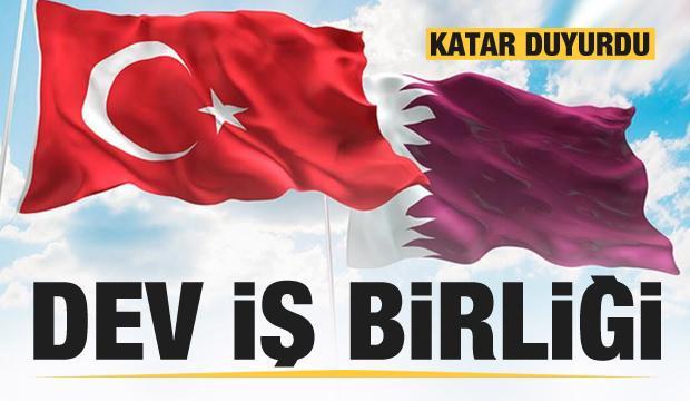 Katar açıkladı: Türkiye ile dev anlaşma!