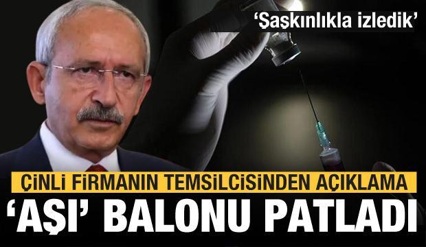 Kılıçdaroğlu'nun 'Aşı' balonu patladı! İddialara yanıt geldi!