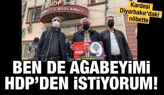 Kılıçdaroğlu'nun kardeşi: Ben de ağabeyimi HDP'den istiyorum