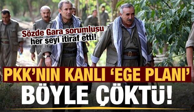 PKK'nın Ege planı böyle çöktü! Sözde Gara sorumlusu her şeyi itiraf etti