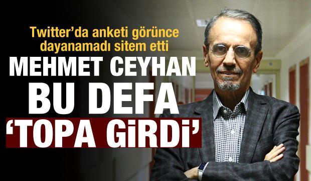 Prof. Mehmet Ceyhan bu kez koronavirüs değil, futbol konuştu!