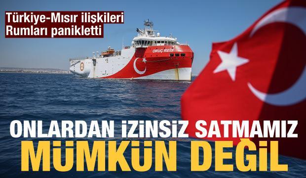 Rumlardan Türkiye itirafı: Anlaşmadan satamayız!