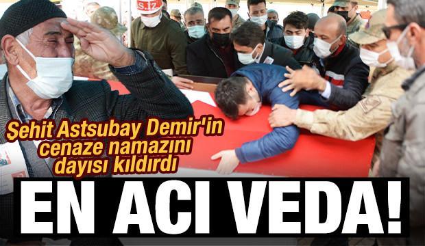 Şehit Astsubay Kıdemli Başçavuş Demir, memleketinde toprağa verildi