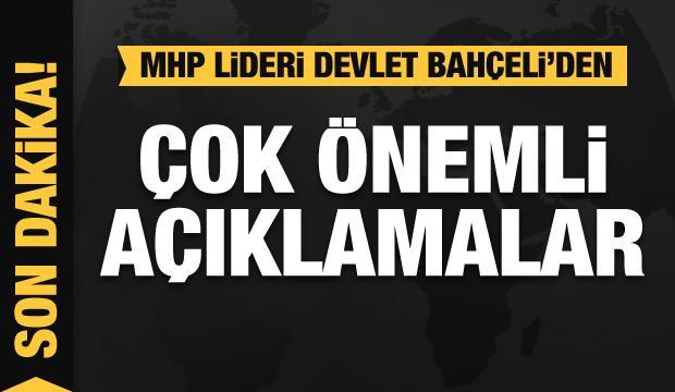 Son dakika haberi: Bahçeli 'CHP'ye soruyorum' diyerek bombayı patlattı...