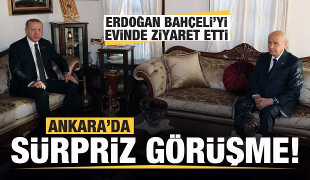 Son dakika: Başkan Erdoğan'dan Ankara'da sürpriz ziyaret