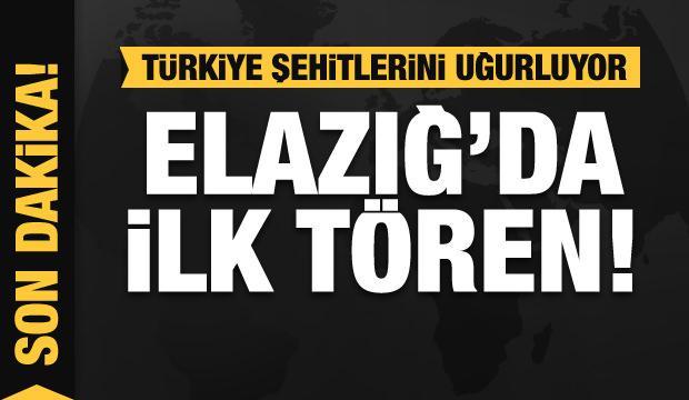 Son dakika: Türkiye helikopter kazası şehitlerini devlet töreniyle uğurladı