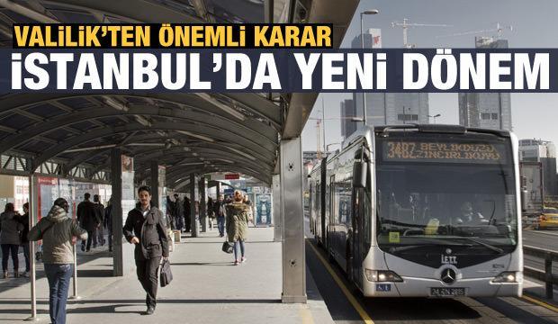 Son dakika haberi: İstanbul'da 65 yaş üstü ve 20 yaş altı için yeni karar