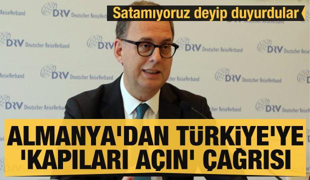 Son dakika haberi: Satamıyoruz deyip duyurdular: Almanya'dan Türkiye'ye 'kapıları açın' çağrısı