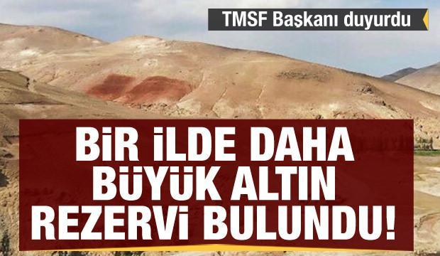 Son dakika haberi! TMSF Başkanı duyurdu: Ağrı'da büyük altın rezervi bulundu