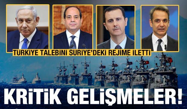 Peş peşe bomba gelişmeler! Türkiye talebini Suriye'deki rejime iletti