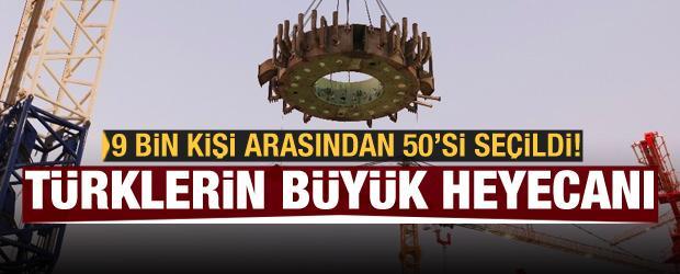 Türk mühendislerin büyük heyecanı: 9 bin kişiden 50 kişi seçildi