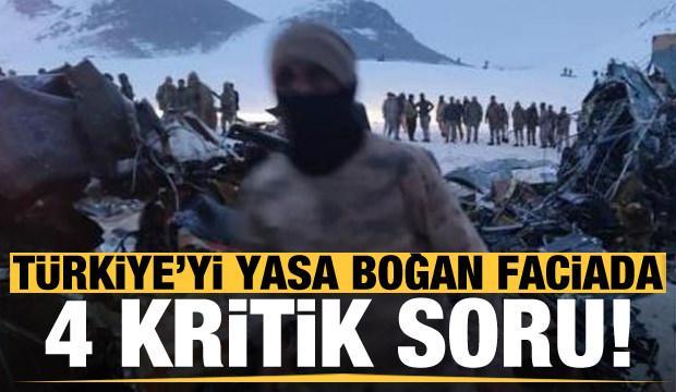 Türkiye'yi yasa boğan faciada 4 kritik soru!