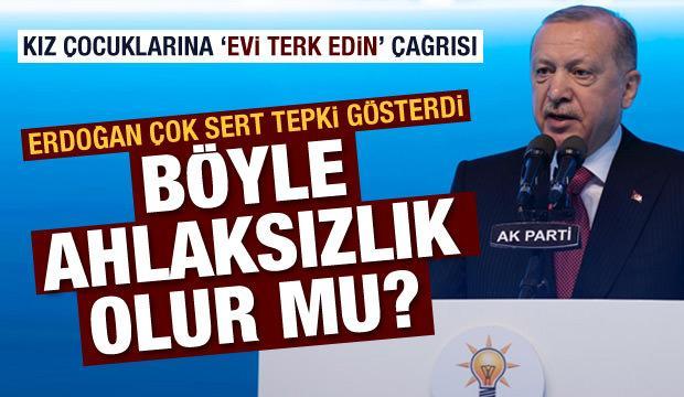 Erdoğan'dan sert tepki: Bu bir ruh hastalığının işaretidir