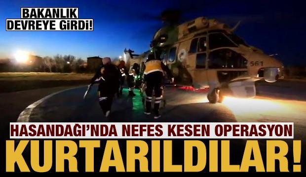İçişleri Bakanlığı devreye girdi: Hasandağı'nda nefes kesen kurtarma operasyonu