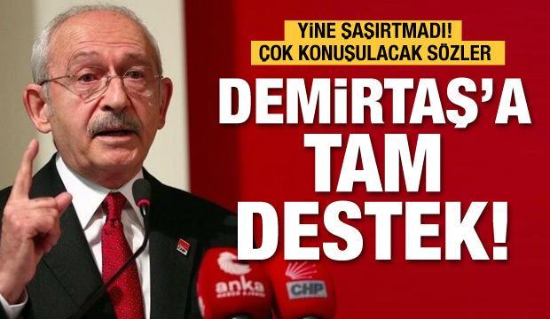Kılıçdaroğlu'dan Demirtaş ve Sancar'a Gara desteği