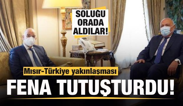 Mısır-Türkiye yakınlaştı, Yunanistan fena tutuştu! Soluğu orada aldılar