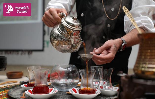 Sıcak çay servisi nasıl yapılır?