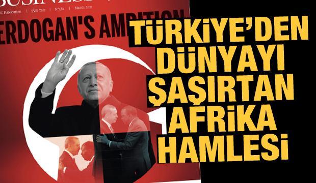 Türkiye'nin Afrika'da 18 yılda yaptıkları dünya basınında