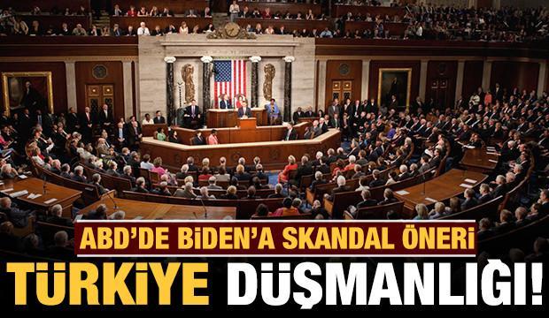 ABD'li senatörlerden skandal öneri: Biden'a Türkiye düşmanlığı teklifi!