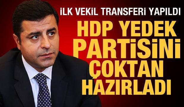 HDP yedek partisini çoktan hazırladı! İlk vekil transferi yapıldı