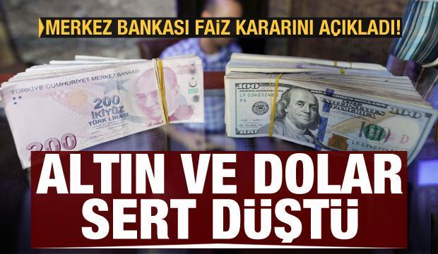 Son dakika haberi: Merkez Bankası faiz kararını açıkladı