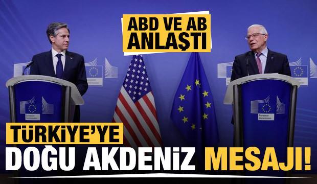 ABD ve AB anlaştı! Josep Borrell'den Türkiye'ye Doğu Akdeniz mesajı